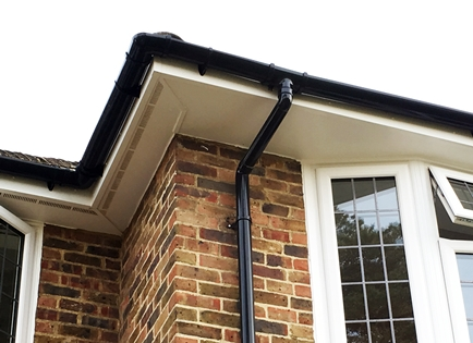 Replacement soffitts, fascias & guttering